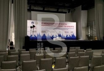 Аренда пресс воллов и звукового оборудования для конференций по договору