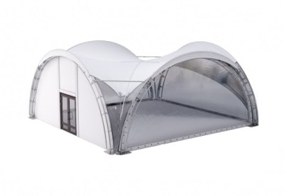 шатер арочный 8 на 8 м. top со стенками аренда в спб и мск цена