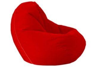Кресло мешок красный Bean Bag Opti аренда на мероприятие в СПб и МСК цена, кресло груша Бин Бег большой в красном чехле прокат