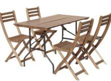 Набор для пикника (реечный стол и 4 стула для пикника)