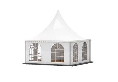 Шатер тент Pagoda 5x5 аренда в СПб и МСК, прокат шатра Пагода 5 на 5 метров