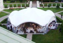 Аренда шатров от 100 человек