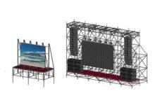 LED экран 2,9×2,3 м. / Шаг 6 мм.