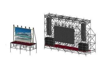 LED экран 2,9×2,3 м. шаг пикселей 6 мм. аренда в МСК цена, взять в прокат светодиодный экран 3х2 метра в СПб стоимость