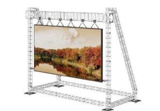 LED экран 5,8×4 м. шаг пикселей 6 мм. аренда в МСК цена, взять в прокат светодиодный экран 6х4 метра в СПб стоимость