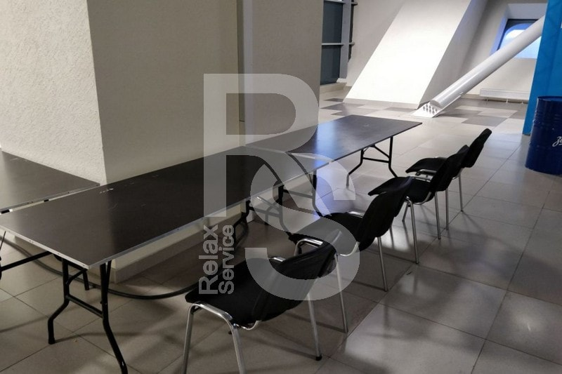 Мебель для фан-променада на стадионе Санкт-Петербург