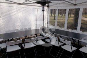 Шатер и мебель в аренду в таврическом саду