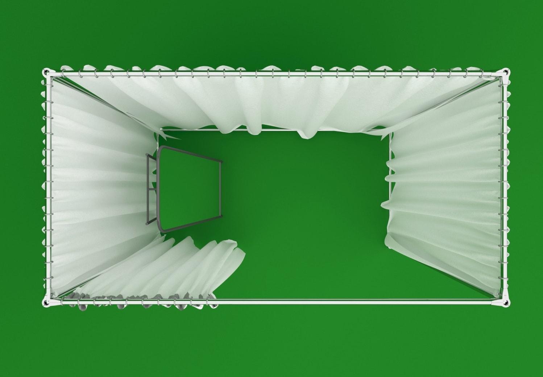 примерочная кабина в аренду цена, взять в прокат примерочную кабинку в СПб стоимость
