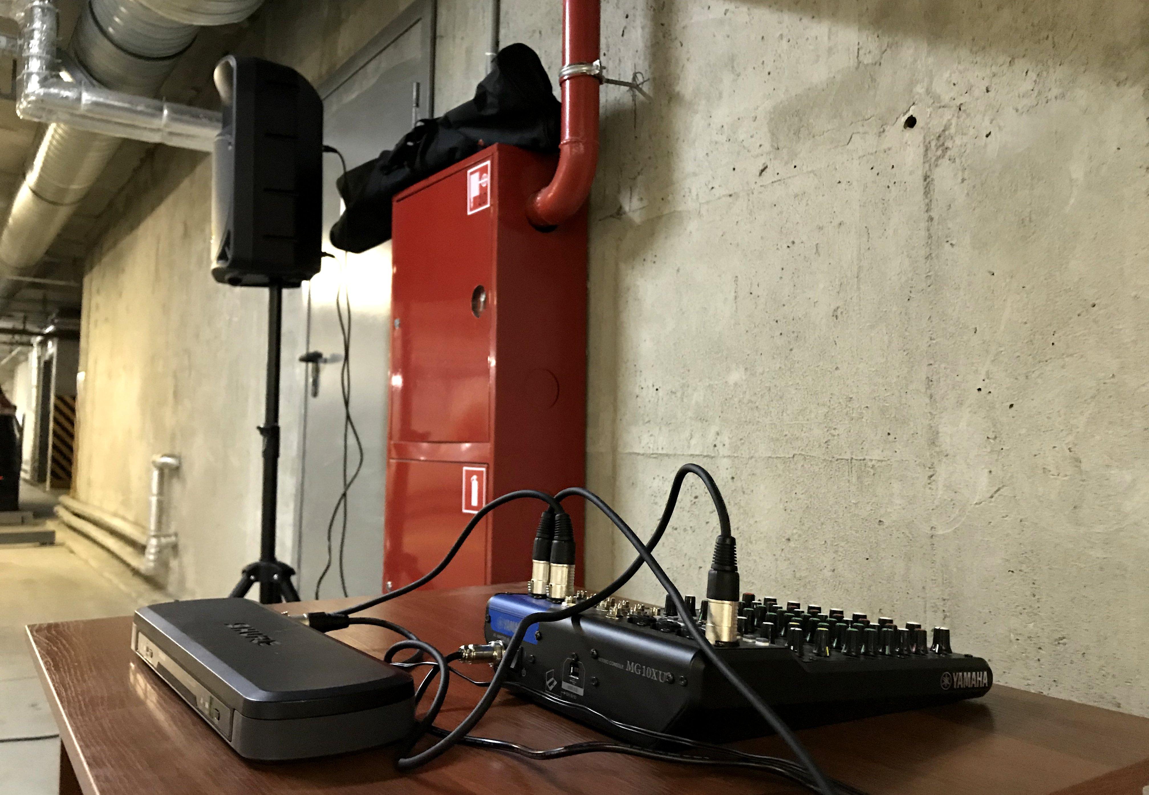 Аренда звукового оборудования и стульев для мероприятия в СПб