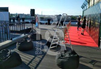 Аренда мебели, подиума, пресс воллов и оборудования на мероприятие Chain