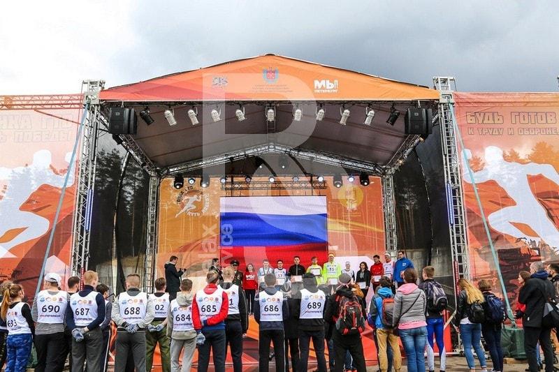 Аренда сцены, звука, света и другого оборудования на ГТО 2018