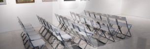 Аренда складных стульев на мероприятие в Arts Square Gallery