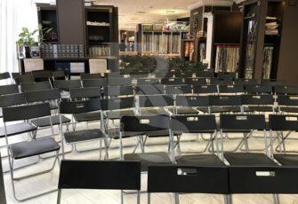 Аренда стульев для конференции KADO 2018