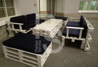 Аренда мебели из паллет для Хакатон 2018