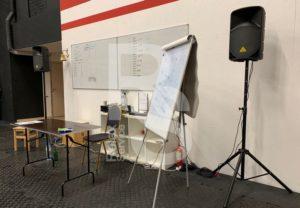 Комплект звукового оборудования в аренду для спортивного мероприятия
