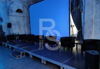 Оборудование и мебель в особняке Пальма